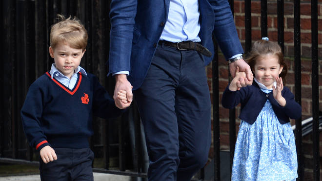 Prince George and Princess Charlotte are 3rd and 4th in line to the throne