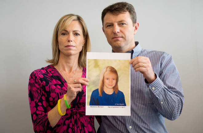 Gerry and Kate McCann have never given up hope of seeing missing Madeleine again