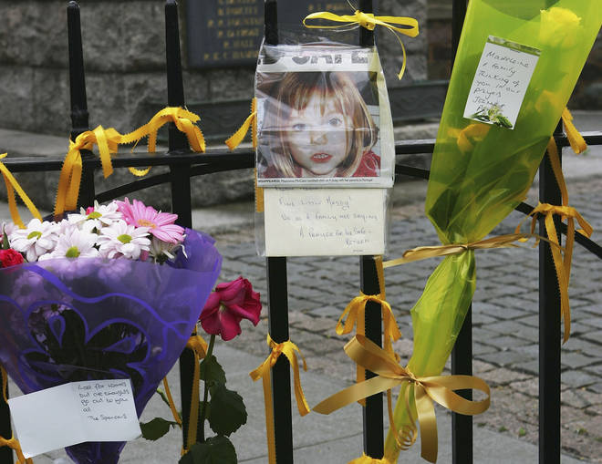 People across the UK grieved the disappearance of the small girl after she vanished in May 2007