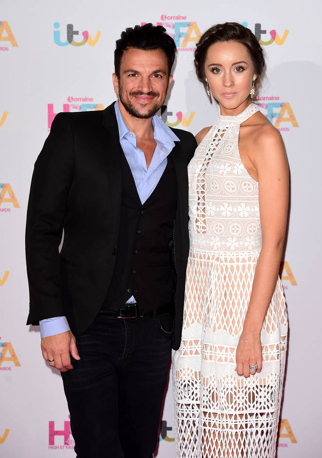 Peter Andre's wife Emily admitted she was considering throwing a chickenpox party