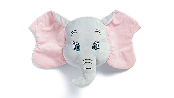 Cuddle up to Dumbo in bed