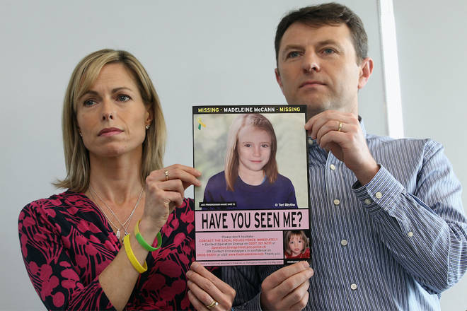 Kate and Gerry's daughter Madeleine went missing in 2007