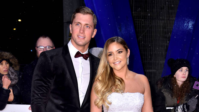 Dan Osborne and Jacqueline Jossa at the NTA's earlier this year