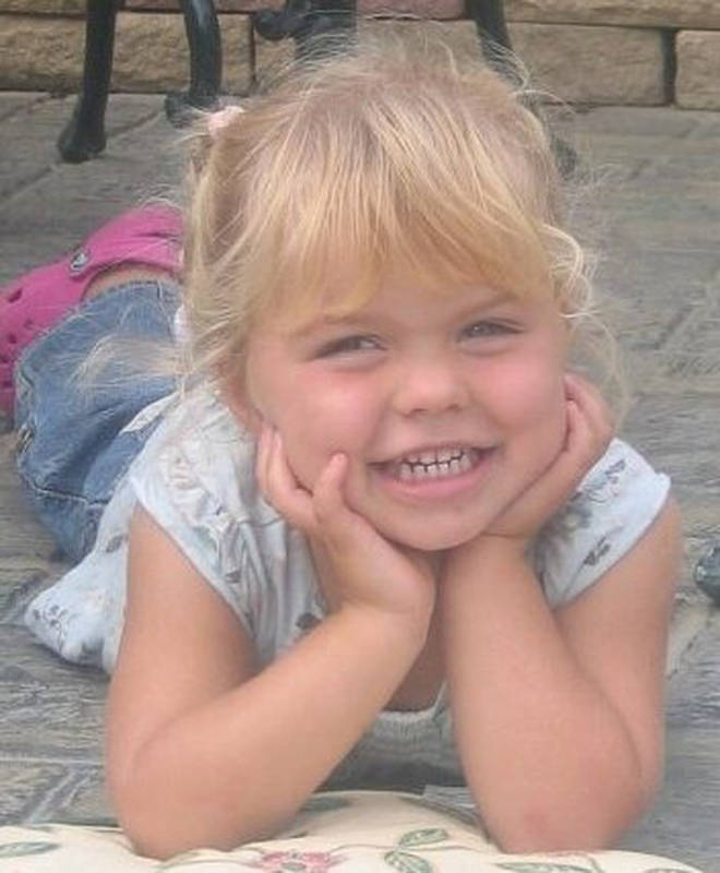 Angie Bunce-Mason's daughter died aged three