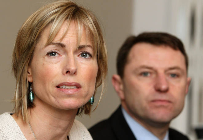 Madeleine's parents, Kate and Gerry McCann