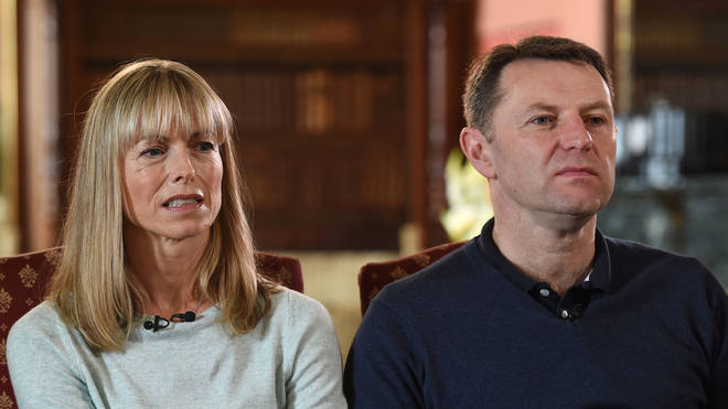 Kate and Gerry McCann have always denied involvement