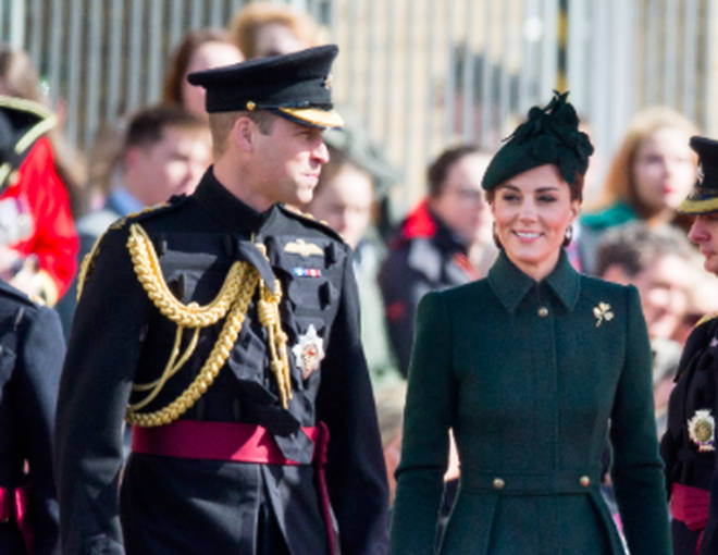 Duke and Duchess of Cambridge St Patrick's Day celebrations