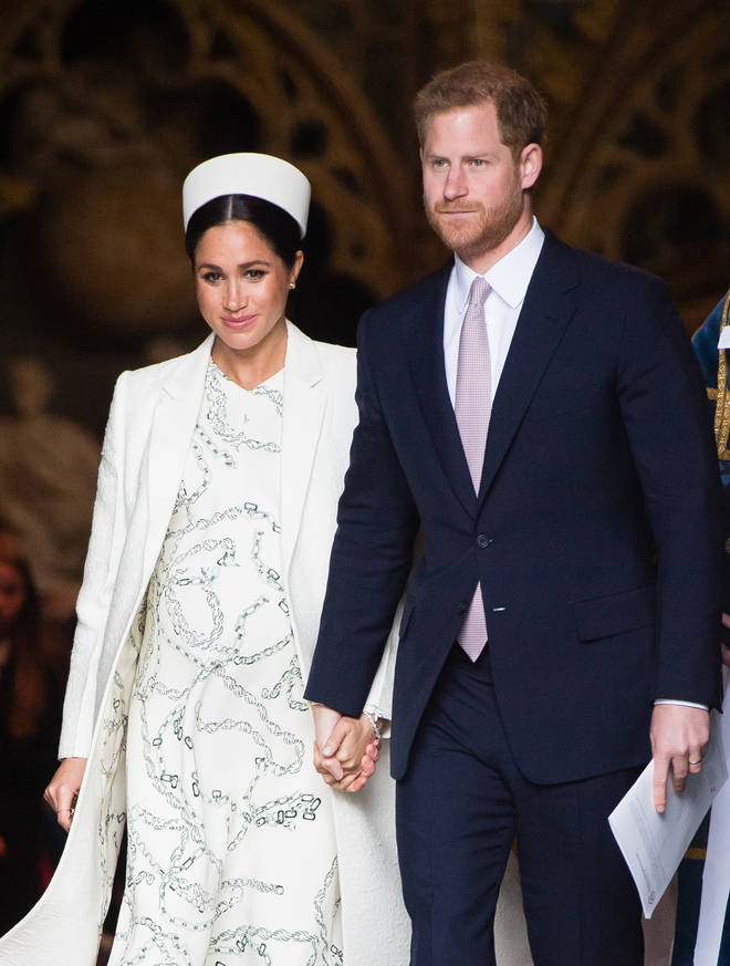 Meghan has received a psychic message from Diana