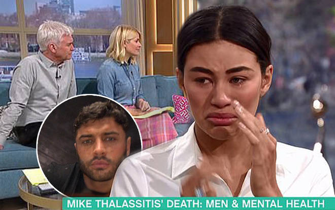 Mike Thalassitis Love Island Co Star Montana Brown Kicks Herself For Not Replying Heart
