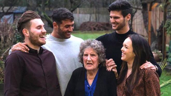 Mike Thalassitis family photo