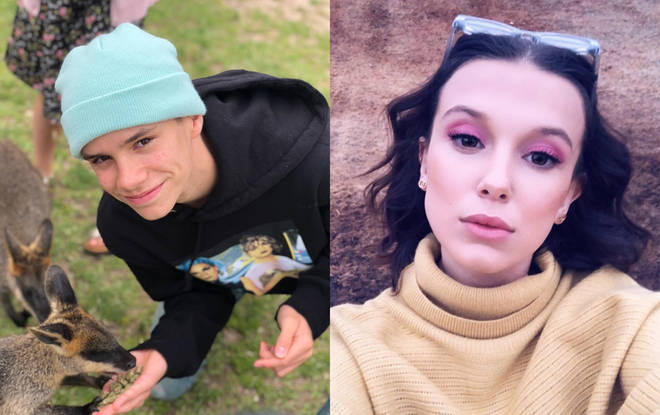 Millie Bobby Brown and Romeo Beckham are reportedly dating
