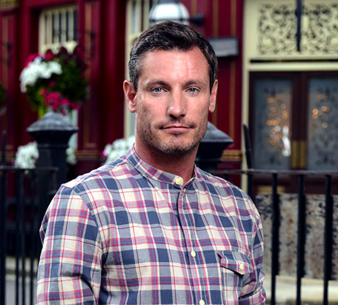 Dean as Robbie Jackson in Eastenders