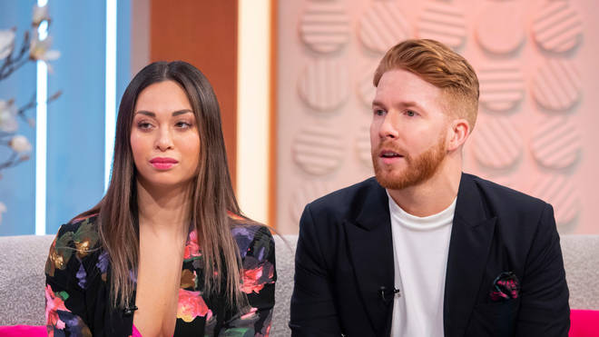 Katya and Neil Jones appeared on Lorraine to discuss the infamous Seann Walsh affair