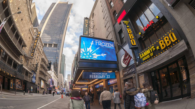 Frozen will open on the West End in Autumn 2020