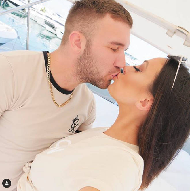 Sophie Gradon and boyfriend