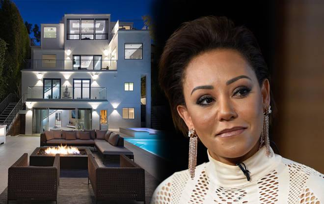 Mel B mansion home asset