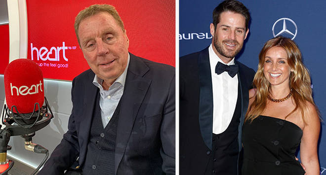 Harry Redknapp hasn't given son Jamie any love life advice since his divorce