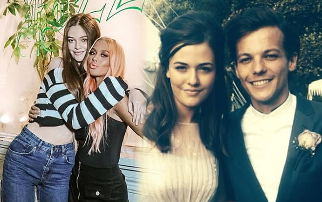 Louis Tomlinson and Lottie and Felcitie