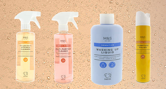Marks and Spencer's cleaning products are a hit with house proud bloggers