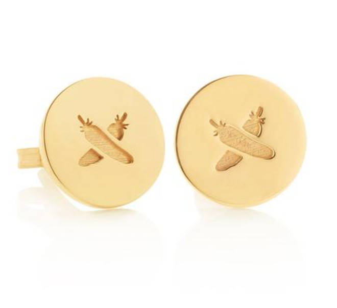 The Boh Runga earrings were a gift from the Prime Minister of New Zealand
