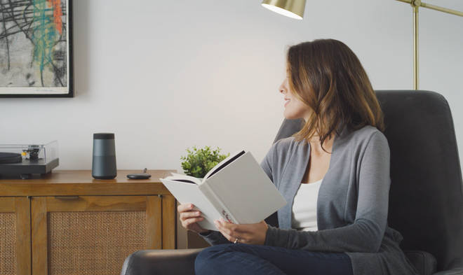 A woman as stunned to hear the voice of her dead sister through an Alexa device