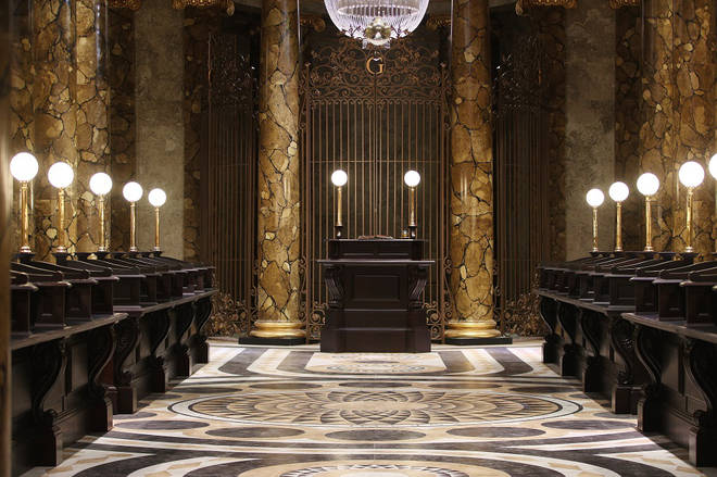 Gringotts was the setting of many memorable scenes from the films