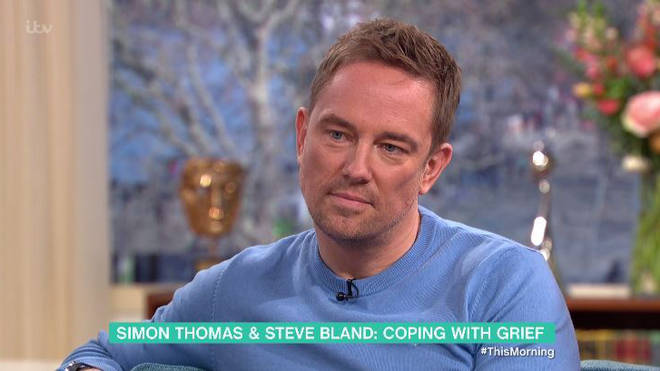 Simon Thomas appeared on Wednesday's This Morning