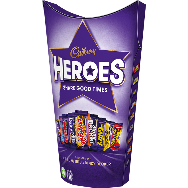 Cadbury Heroes selection box