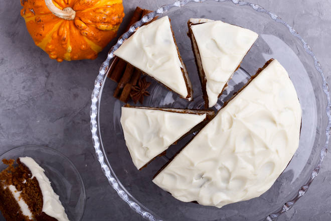 This butternut squash cake should be picked over a chocolate creation
