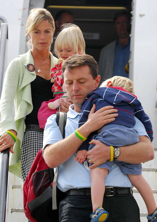 McCann Family Return Home