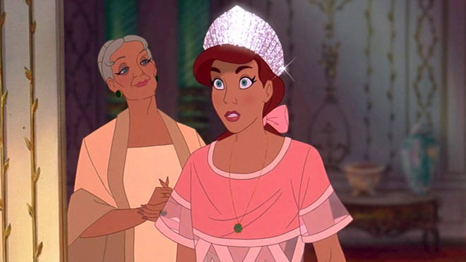 Anastasia can FINALLY be crowned a Disney princess