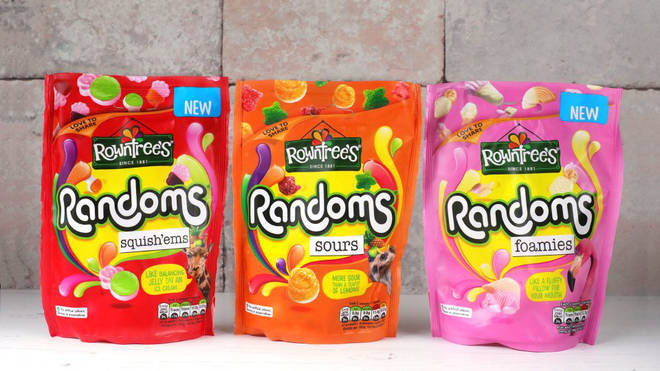 Rowntree's Randoms will contain news shapes and flavours to celebrate 10 years on supermarket shelves
