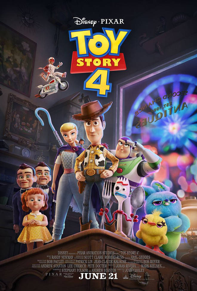 Toy Story 4 will be released in UK cinemas on June 21