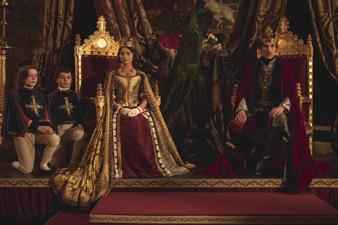 Jenna Coleman reprises her role as Queen Victoria
