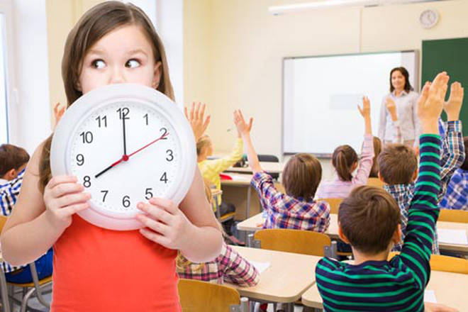 Some schools are changing their clocks