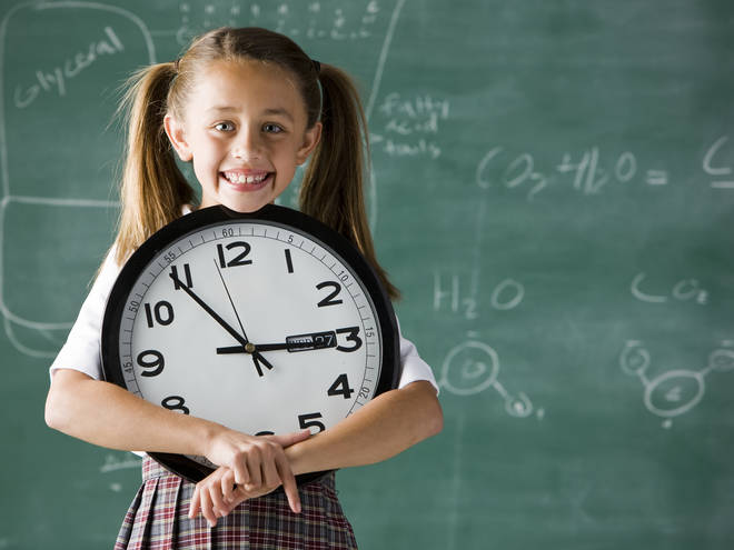 Children have become more accustomed to digital clocks