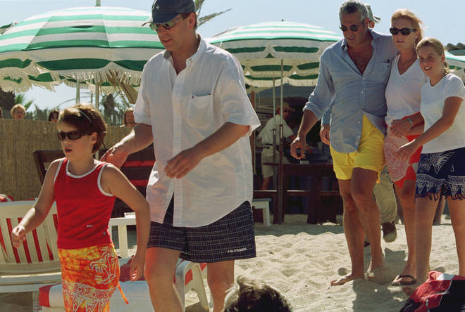 royals on the beach rare snaps of the royal family