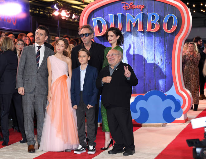 Dumbo stars Colin Farrell and Danny DeVito discuss the Disney remake