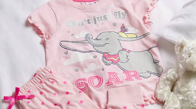 Roll up, roll up! Primark has added a pair of Dumbo pyjamas to its latest Disney collection.