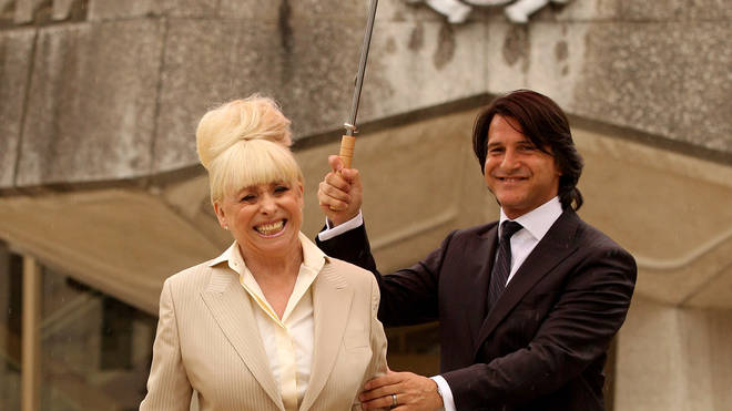 Barbara Windsor is being supported by husband Scott