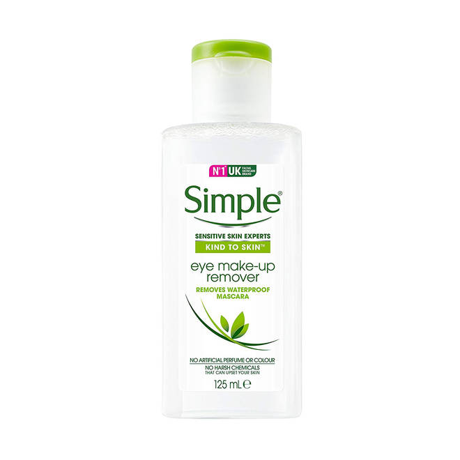 Simple Eyemakeup Remover is Oil Free and affordable