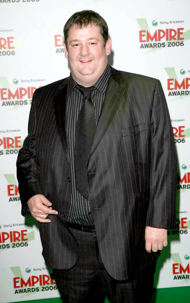 Johnny Vegas has always been known for his fuller frame