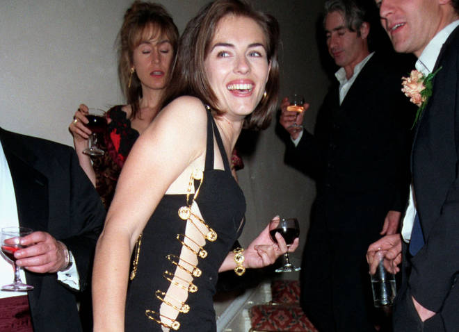 Elizabeth Hurley became a household name after wearing the dress in 1994