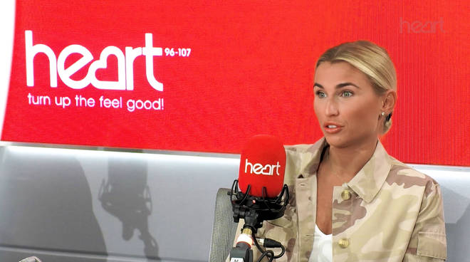 Billie Faiers opened up about the criticism in the Heart studio today