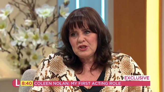 Coleen Nolan spoke to Lorraine about her dating life