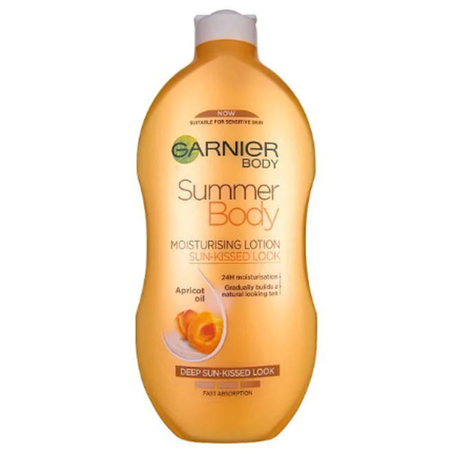 Garnier's self-tanning lotion is said to contain potentially harmful chemicals