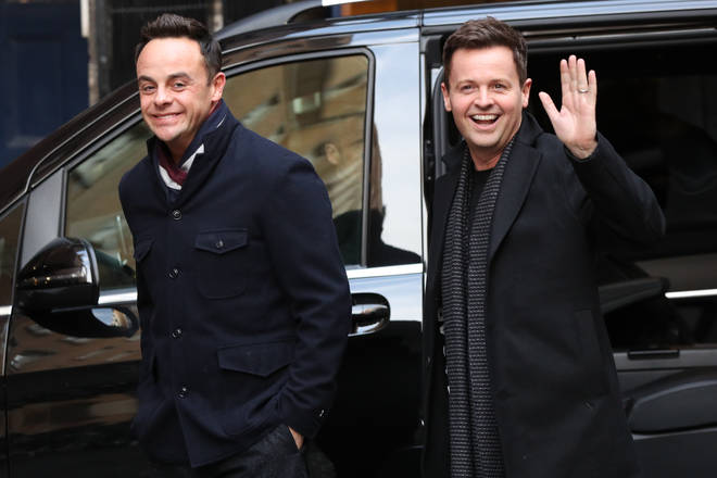 Ant and Dec will host the show