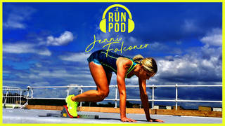 Jenni Falconer has put her passion for running in a podcast