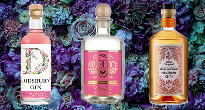 Berry, rose and orange flavour gins are sure to impress