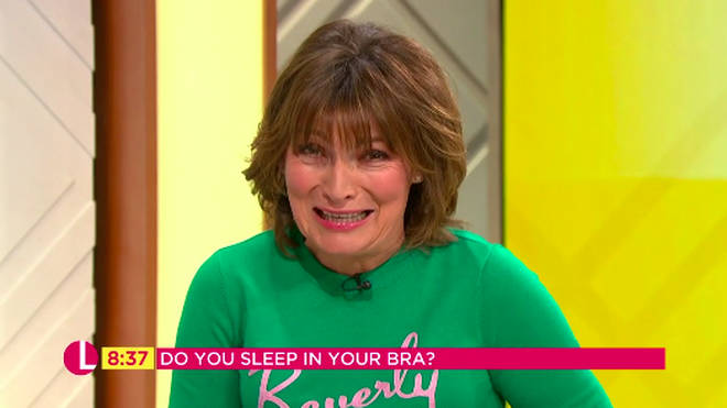 Lorraine Kelly admits she wears a bra overnight